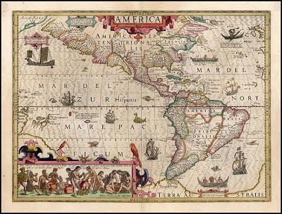 MAPA HISTÓRICO 1606-America-Joducus-Hondius